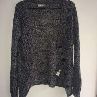 Paper Scissors Knotted Cardigan (size S)