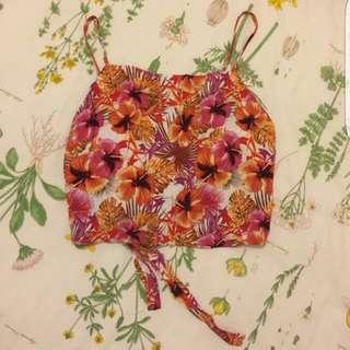Cute Mink Pink Tie Back Size Xs 6