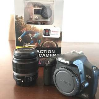 Canon 450d Beginners Dslr Package