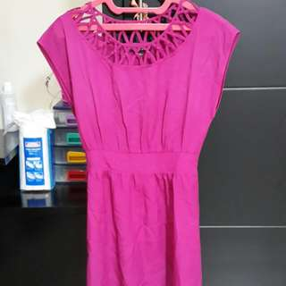 [Forever 21] Fuschia Dress