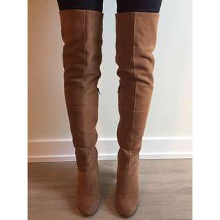 TOPSHOP thigh high boots - Size 7.5