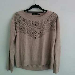 Embellished Loose-fit Sweater