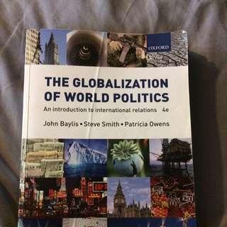 The Globalisation Of World Politics