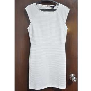 Forever 21 Little White Bodycon Dress