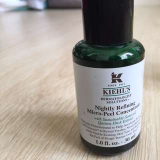 Kiehl's Nightly Refining Micro Peel Concentrate