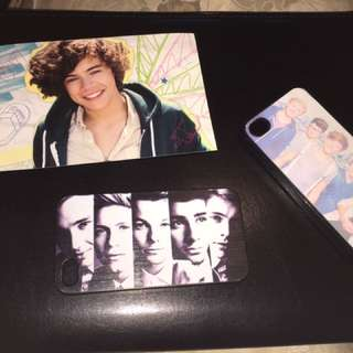 2 IPhone 4 One Direction Phone Cases With Harry Styles Magnet