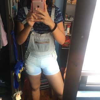 Maong jumper Shorts