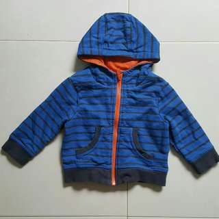 Mothercare Baby Blue Sweater (6-9 Months)