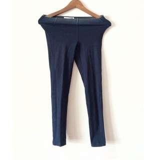 blue jegging (jeans legging)