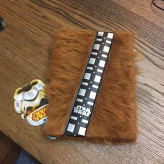 Chewbacca Notebook from Star Wars