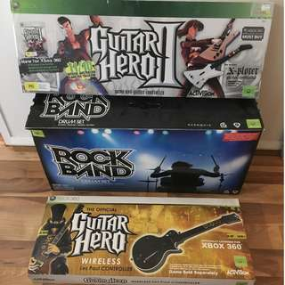 Guitar Hero/DJ Hero MEGA BUNDLE (Xbox 360)