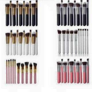 10pcs Make Up Brushes