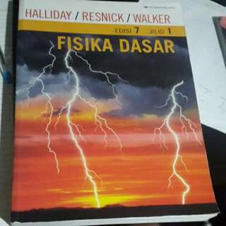Buku Fisika Dasar,by Halliday/Resnick/Walker