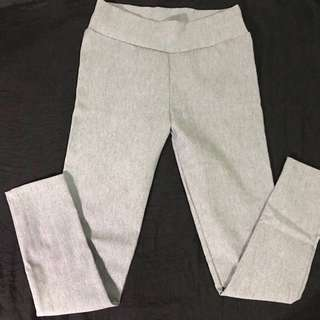 Light gray skinny slacks