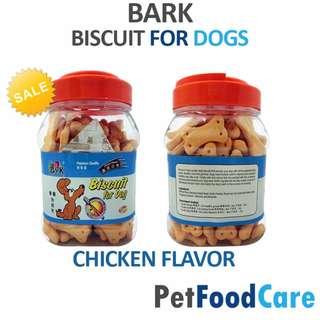 BARK Biscuit For Dog Treats CHICKEN FLAVOR