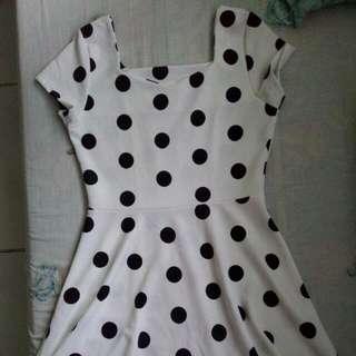 Reprice Polkadot Dress