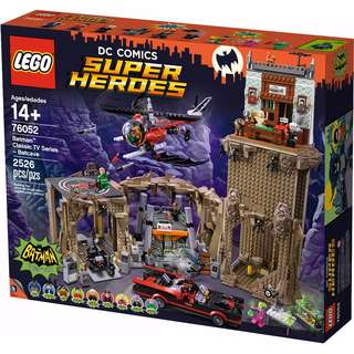 LEGO 76052 Super Heroes Batman Classic TV Series - Batcave (2016)