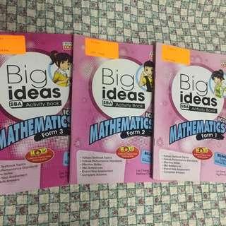 Mathematics Work Books FREE