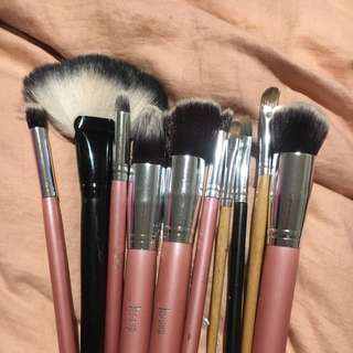 Assortment Of Makeup Brushes