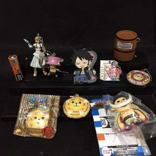 AUTHENTIC ONE PIECE ITEMS