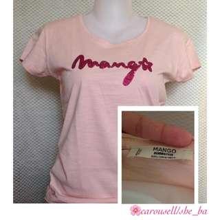 REPRICED @180  Mango Sequin T-shirt