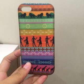 iphone 5/ 5s ethnic borneo soft case