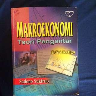 (Buku) Makroekonomi Teori Pengantar, Edisi 3