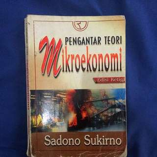 (Buku) Mikroekonomi, Pengantar Teori, Edisi Ketiga
