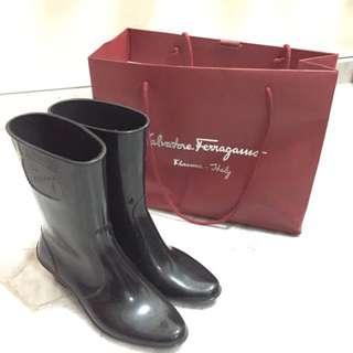 Salvatore Ferragamo Rubber Boots