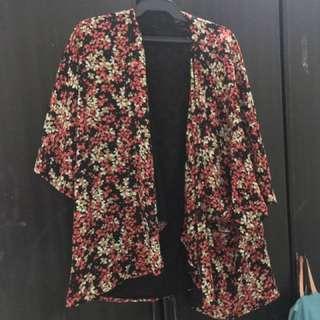 Zalora floral kimono