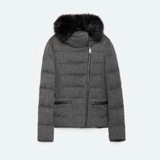 Zara Feather Jacket