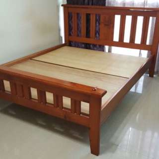 Picket & Rail - Handcrafted Wood Bed Frame