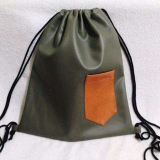 Leather String Bags