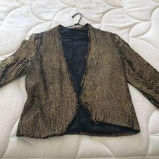 Gold Vintage Jacket