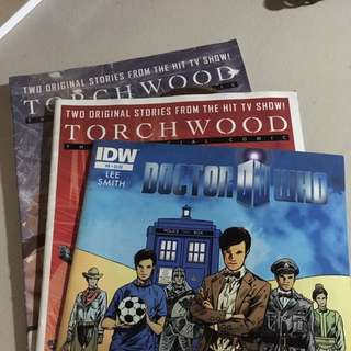 Doctor Who and Torchwood Comics