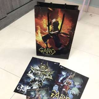 Garo Merchandise Set