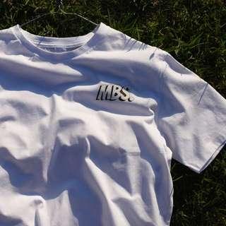 'MBS' CARTOON PRINT TEE
