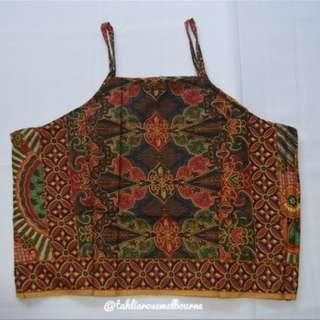Indonesian Batik Crop