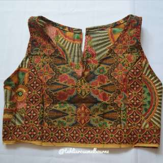 Indonesian Batik Crop