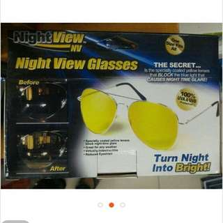 Pre Order Night View Glasses
