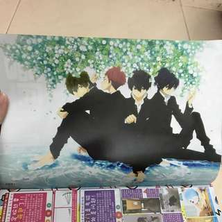 Free! High Speed Poster