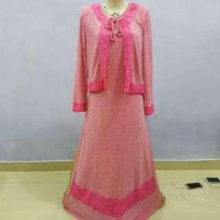 Dress .warna Pink..allsize