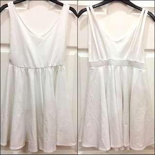 White Sexy Back Dress