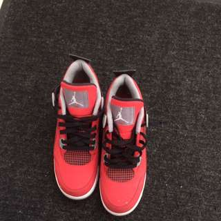 Jordan Red Black Grey