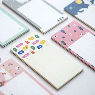 Korean Cute Scheduler / Notepad