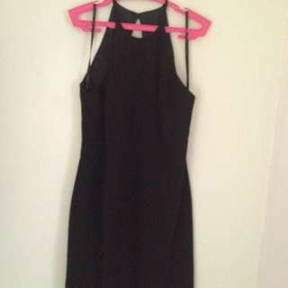 Haltered Mini Dress