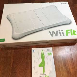 Wii Fit Board with Game