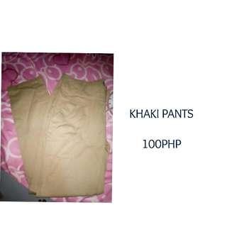 Slacks Khaki