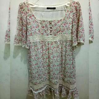 Boho Flowery Dress
