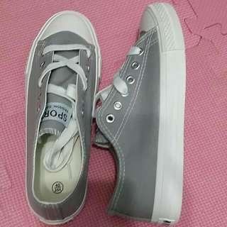 全新!!!無印風#帆布鞋